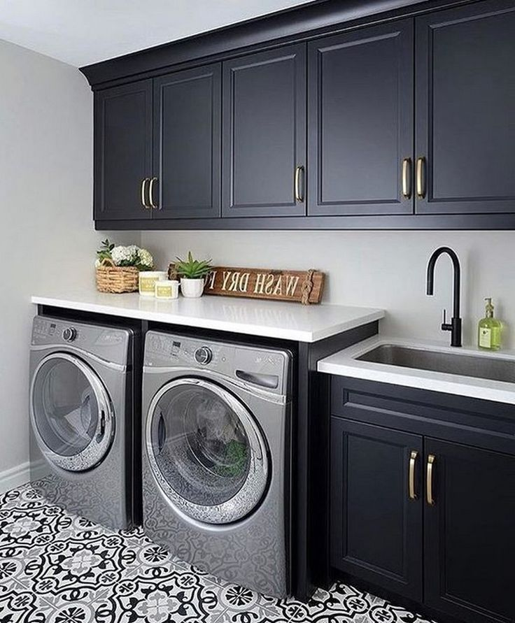 50 modern minimalist laundry room ideas for small space on extraordinary small laundry room design and decorating ideas modest laundry space id=61051