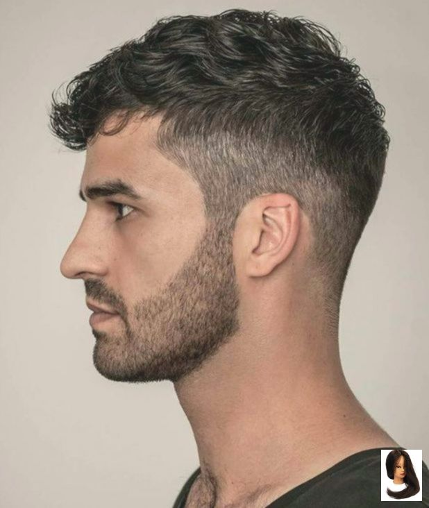 Men S Wavy Fade Hairstyle With Images Wavy Hair Men Curly