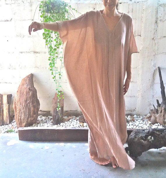 Beach Kaftan Dress Dream/Oversize kaftan/Kimono by MaikaHandworks