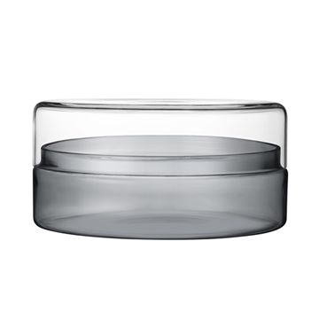 iittala Vitriini Box-220x110 mm Clear/Grey