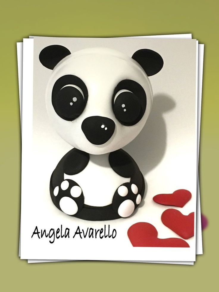 Tutorial, gomma crepla, fommy, cartamodelli, panda, by Angela Avarello Creazioni, 2,80 € su misshobby.com