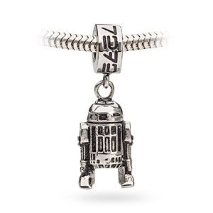 Star Wars R2D2 Dangle Charm Bead | ThinkGeek Charm only so I can put it on my James Avery bracelet