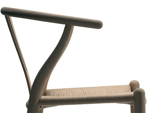 hans wagner, - love the transparent finish version of this chair
