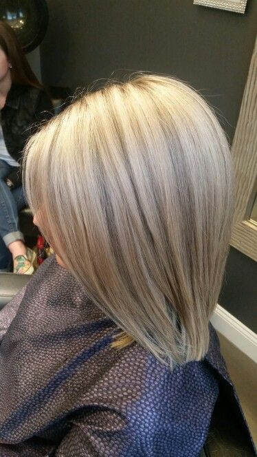 Dimensional Ash Blonde With Highlights And Lowlights By