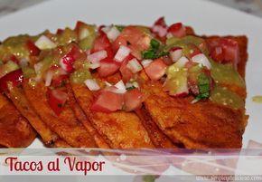 Receta De Tacos Al Vapor | conocidos como tacos sudados y tacos de canasta los tacos al vapor ...