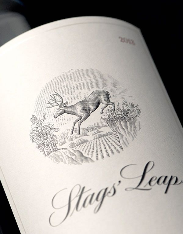 Stags' Leap Winery Wine Label and Package Design