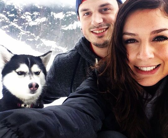 I Can't Believe You Invited Her #siberianhusky #dog