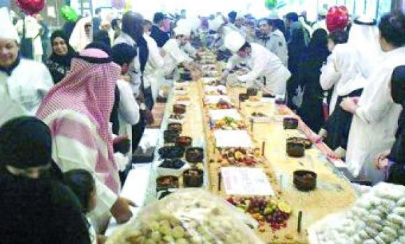 Hotel in Madinah welcomes visitors with large kunafa
