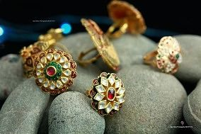 Gold Ring Jewellery Concept Shoot