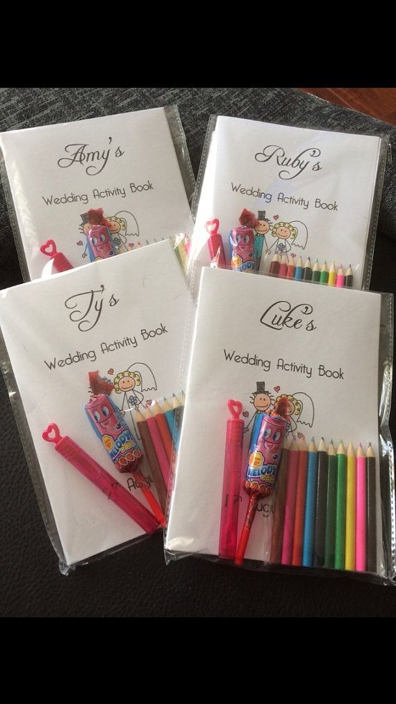 Childrens Wedding Activity Pack Wedding by 2Haveand2HoldUK