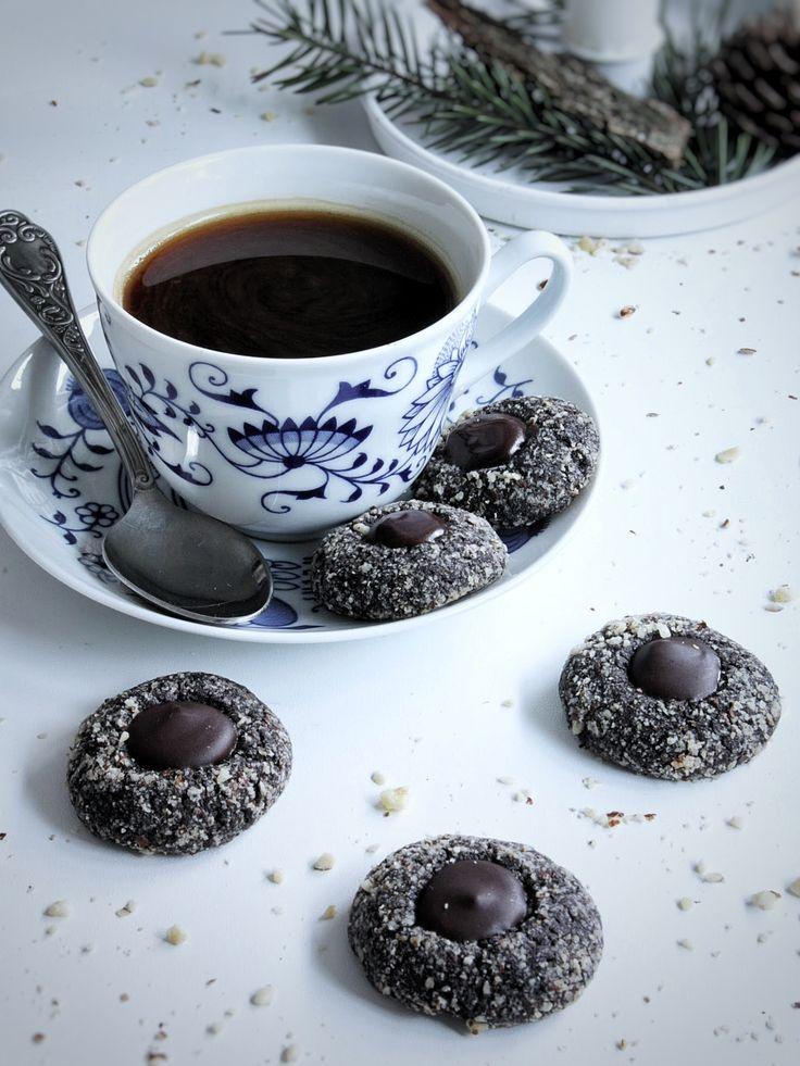 Čokoládové knoflíčky