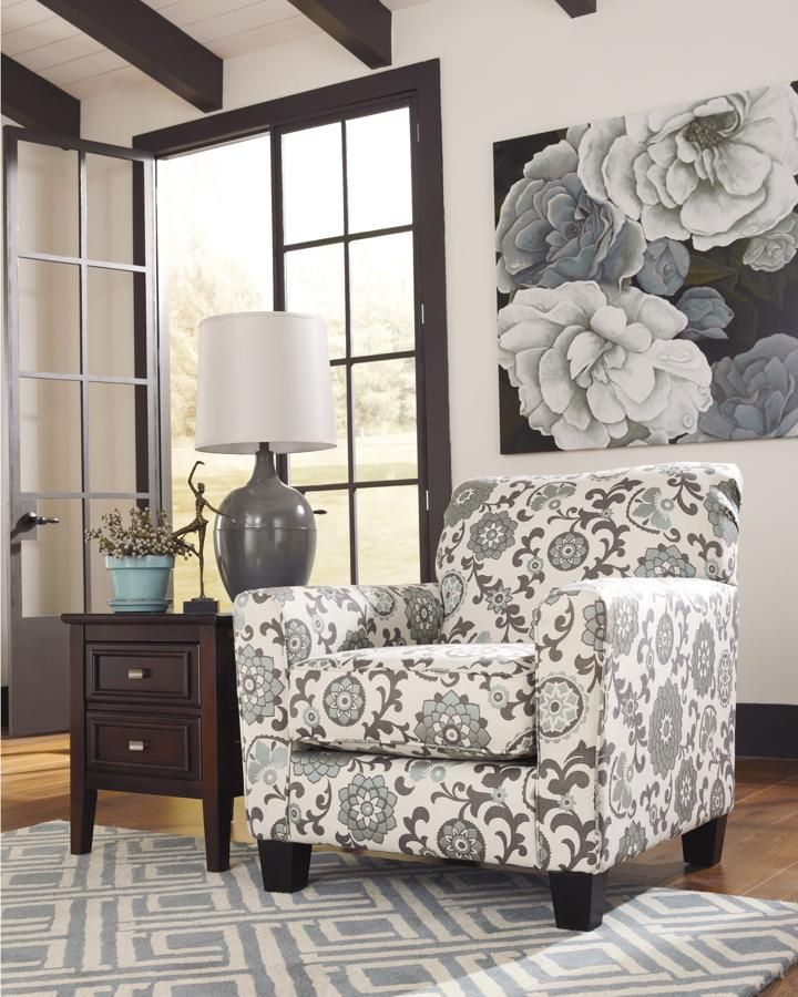 Shoshana Contemporary Mineral Accent Chair Living Room