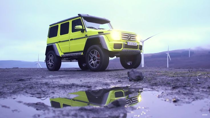 Chris Harris Drives: Mercedes G 500 4x4-2 - https://www.topgear.nl/autonieuws/chris-harris-drives-mercedes-g-500-4x4-2/