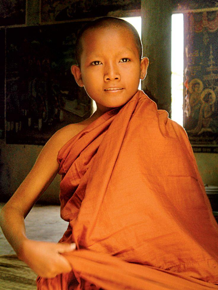Enfant moine - Birmanie