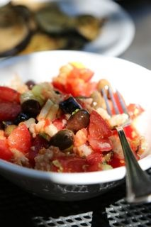 Famous tomato and bread salad of Umbria. http://www.ontariotable.com ...