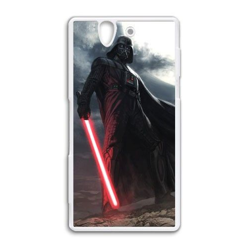 star wars darth vader lightsaber Sony Xperia Z case cover