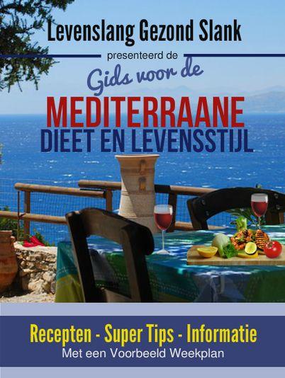 Klik op het plaatje voor de gratis gids over de Mediterraan Dieet