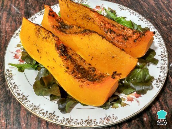 Receta de Calabaza al horno con especias - ¡Ideal para perder peso!
