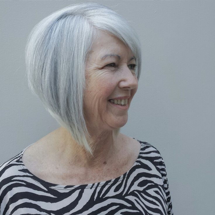 #bobhaircut #grayhair  Hair: Master Stylist Vernice          Carlton Hair Riverside           951) 343 1684  @vernice_1