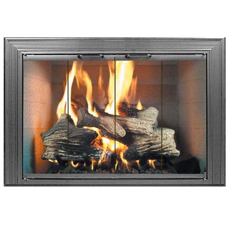 Decor Stock Masonry Fireplace Door Fireplace Doors Fireplace