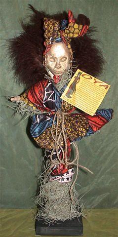 Voodoo-dukke rekvisit