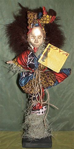 Regular Oya Doll Large Oya Doll ©1996 Voodoo Authentica ™
