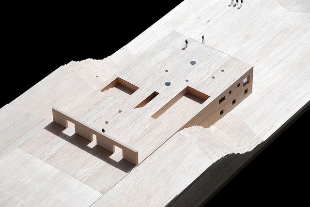 House in Zahara by estudio campo baeza,  maquette, architectural model, maqueta, modulo