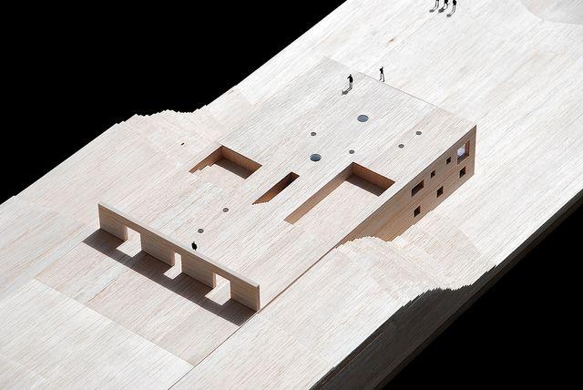 House in Zahara by estudio campo baeza,  maquette, architectural model, maqueta, modulo