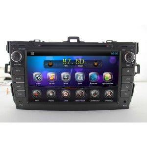 Sistem GPS Toyota Corolla 2006-2011 cu Android 5.1