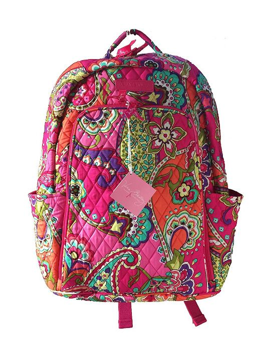 Vera Bradley Laptop Backpack #VeraBradley #Backpack