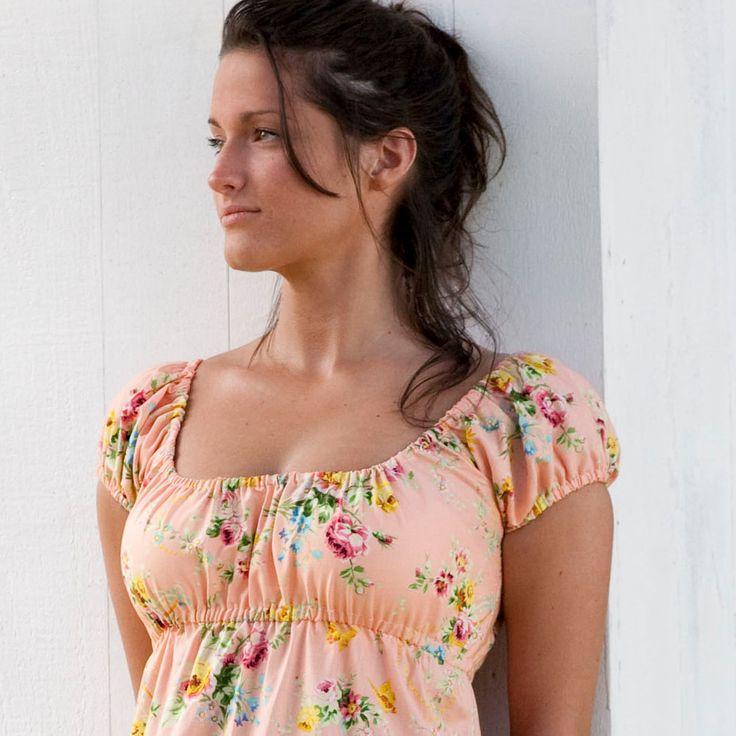 Easy Peasant Dress Sewing Pattern - Sis Boom Meghan Peasant, PDF E-Book. $9.95, via Etsy.