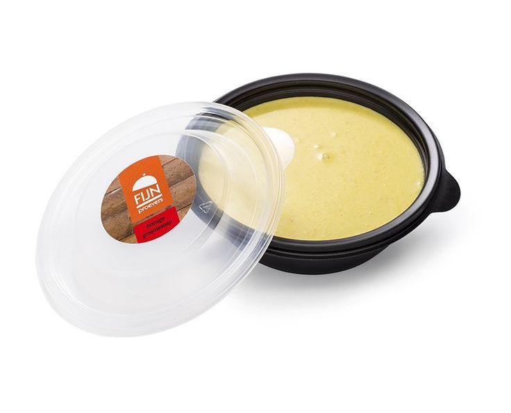 Romige groentesoep. Energie- & eiwitverrijkte soep voor mensen met kauw- & slikproblemen of ondervoeding!