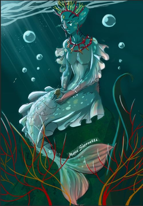 CDC: Mermaid by Campanula89.deviantart.com on @DeviantArt