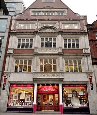 Worlds Coolest Bookstores (Stanfords, London)