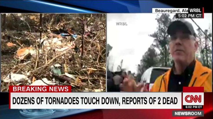 Alabama tornados kill 23 in march 2019 tornado damage