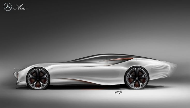 Mercedes-Benz Aria Concept Sketch 2011