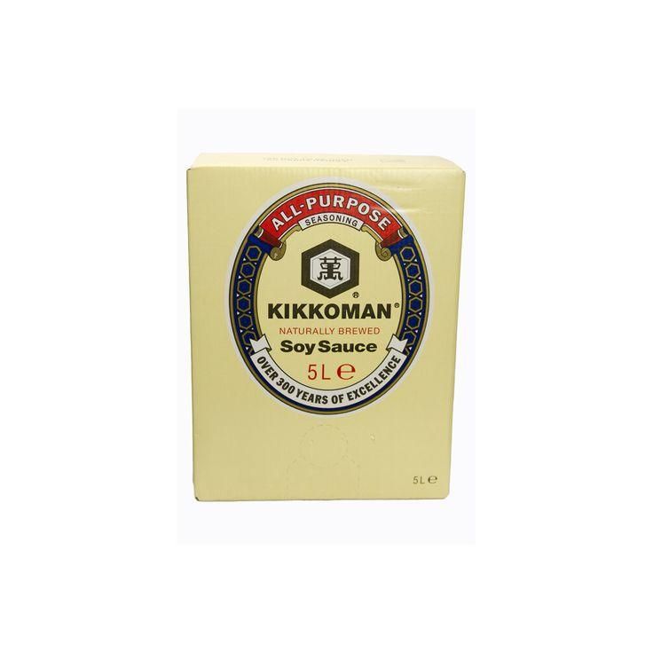 B0023 kikkoman naturally brewed soy sauce 5litre soy
