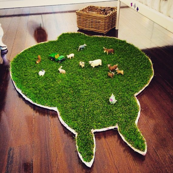 Nature at Your Feet Grass Rug We CREATE YOUR by TheNaturePrinciple