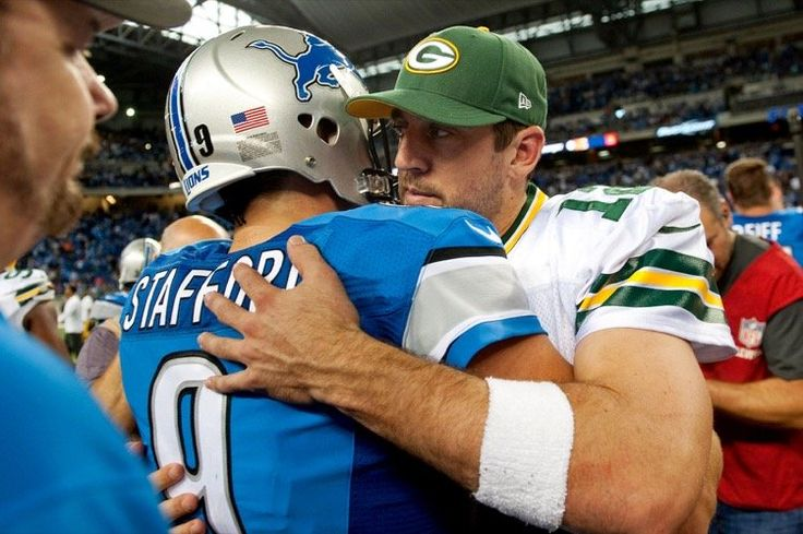 Matthew Stafford Might Be Aaron Rodgers' Breaking Point -- Quarterbacks are getting big contracts -- contracts bigger than Aaron Rodgers'. When Matthew Stafford signs a new deal, Rodgers might hit a breaking point.