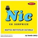 Noaptea Institutelor Culturale 2013 la Bucuresti, 14 iunie