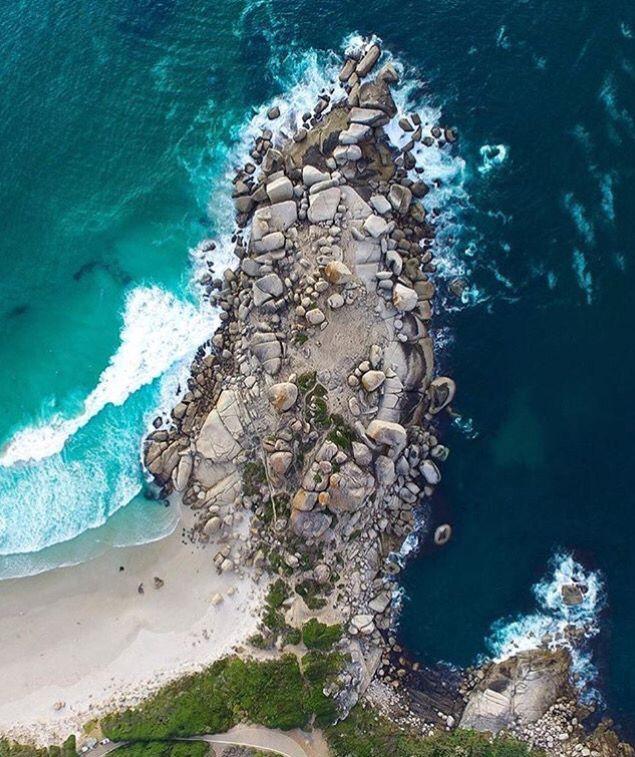 Llandudno Beach, Cape Town RSA.