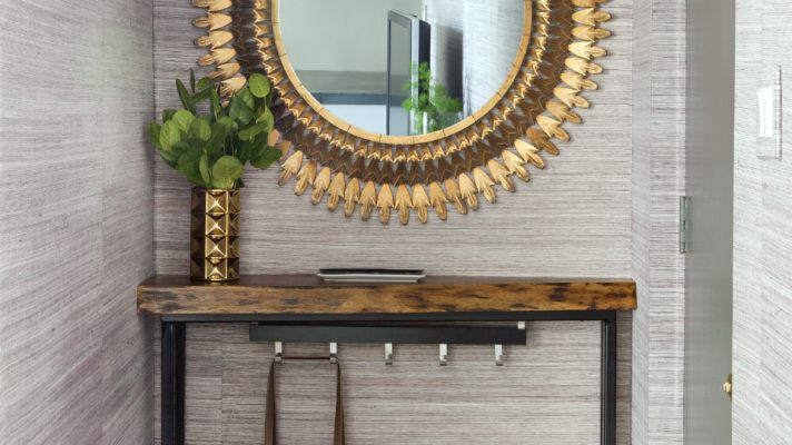 12 Chic Ways to Use Textured Wallpaper in Your Home | StyleCaster