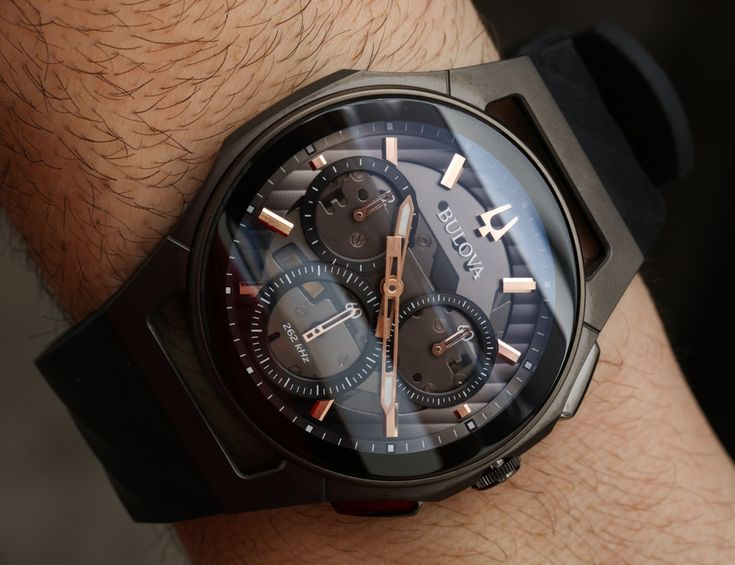 Bulova CURV Watches With Curved Chronograph Movements Hands-On Hands-On