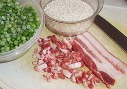 Risotto con piselli e pancetta, ricetta Blog Profumi Sapori & Fantasia