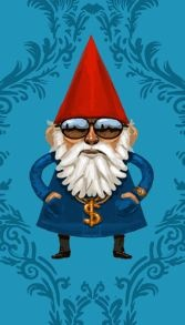 gnome halloween costume idea for Cade