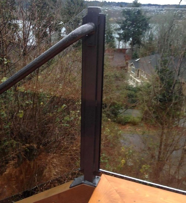 Infinity Glass - Aluminum Railings