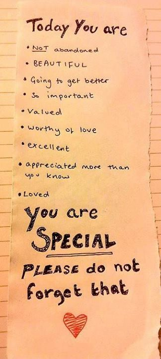 You are special!! +++Visit www.quotesarelife.com for more inspiring quotes