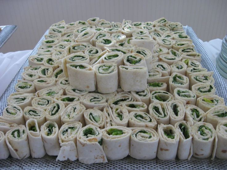 Pin Wheels Like These Are So Easy To Make And Will Feed A Lot Of People Wedding Foodwedding