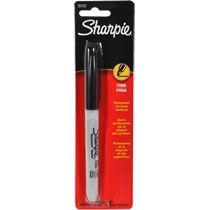 Sharpie Fine-Point Black Permanent Markers at Deals