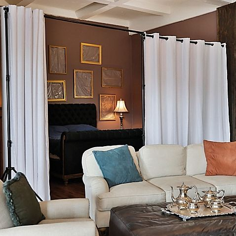 Room Dividers Now 8 Foot X 15 Premium Heavyweight Divider Curtain Panel